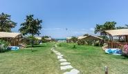 Rhodos Theologos - 'LOGOS Beach Village, Blick zum Kitespot