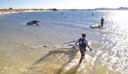 Naxos Flisvos Sportclub, Surfen Lagune