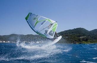 Samos -  Windsurfreisen und Surfurlaub in Kokkari Griechenland