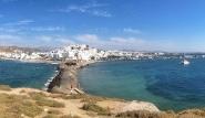 Naxos - Blick auf Naxos Stadt