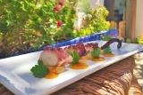 Karpathos, Poseidon Blue, top Essen im Hotel-Restaurant