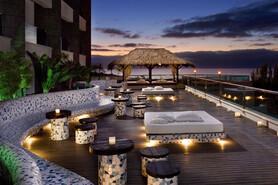 Fuerteventura - Melia Gorriones, Gabi Bar Terrasse