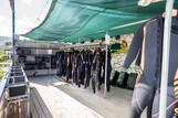 Griechenland, Zakynthos - Nero Sport, Tauchbasis Equipmentraum.