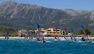 Lefkada - Club Vass, Windsurf Revier