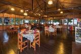 Nordsulawesi - Murex Bangka Resort, Restaurant Innebereich