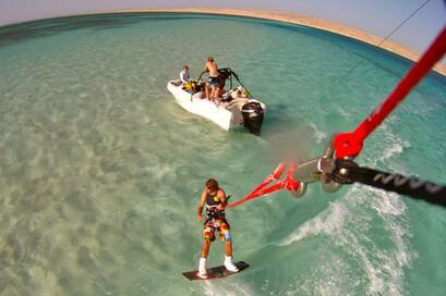 Hurghada  - Kite Action
