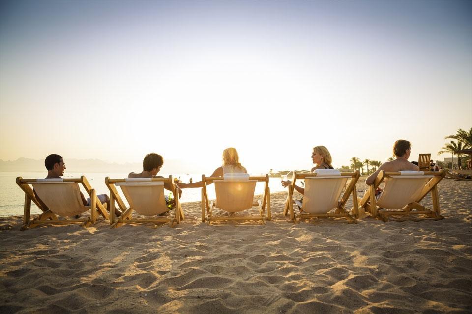 Soma Bay - ROBINSON Club, Sonnenuntergang am Strand