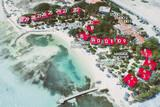 Bonaire - Sorobon Beach Resort, Übersicht Anordnung Chalets