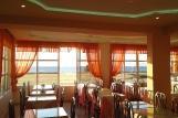 Rhodos Theologos - Nirvana Beach, Restaurant mit Meerblick