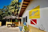 Bonaire - Tropical Inn, Sitzecke Tauchbasis