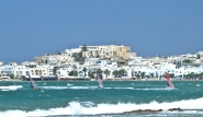 Surf Action vor Naxos Chora