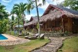 Bohol - Oasis Beach Resort, Deluxezimmer Garten oder Poolblick
