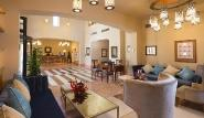 El Gouna - Steigenberger Golf Resort, Lobby mit Rezeption