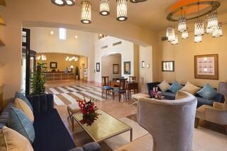 El Gouna - Steigenberger Golf Resort, Lobby mit Rezeption
