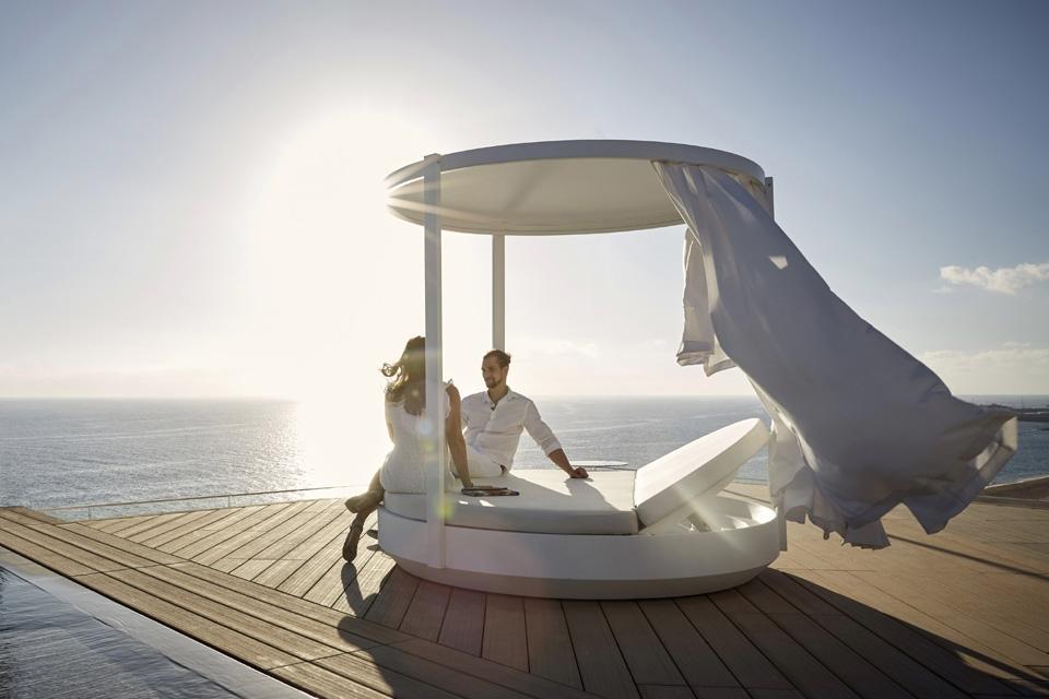 Fuerteventura, ROBINSON Club Jandia Playa, Rooftop Bar Morroskai