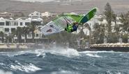 Lanzarote - Windsurfing Club Las Cucharas, Wave Jump