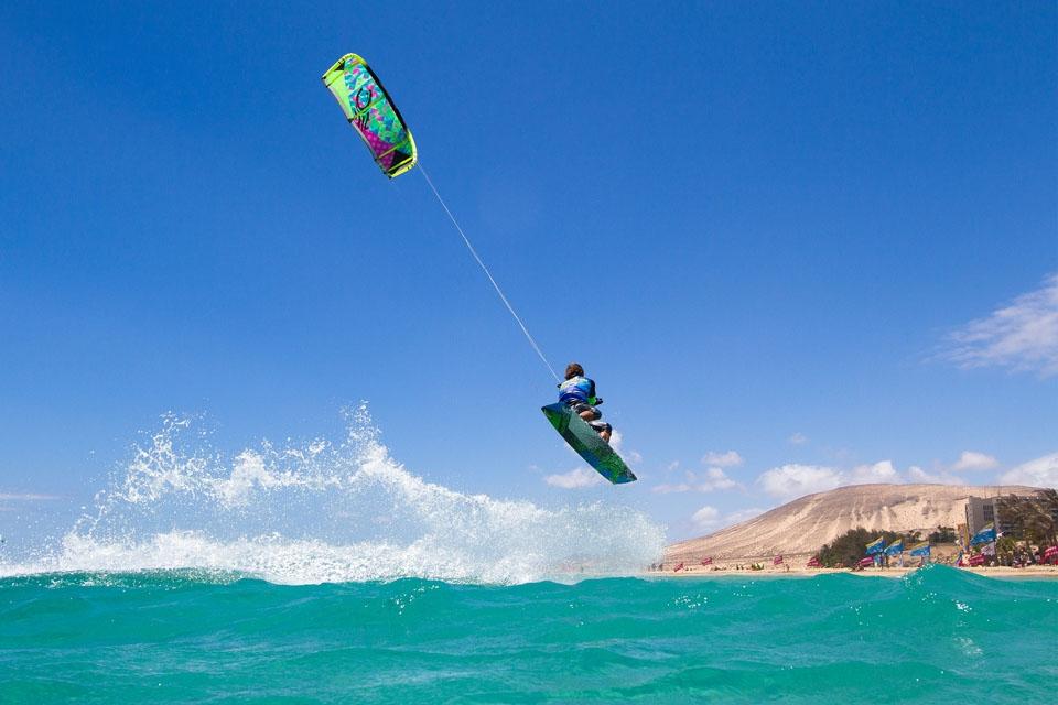 Fuerteventura - René Egli Kite Action