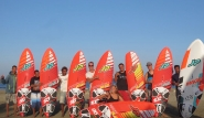 El Naaba - Pro Center Tommy Friedl, Team mit Wave Boards