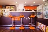 Lefkada - Enodia, Café innen