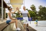 Mallorca - ROBINSON Club Cala Serena, Gemeinsam Spaß am Tennis