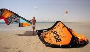 Soma Bay - Am Kitespot von 7 Bft