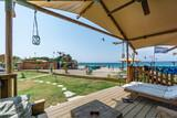 Rhodos Theologos - 'LOGOS Beach Village,  Blick zum Kitecenter
