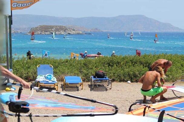 Karpathos - Pro Center Chris Schill - Paradise Bay, Blick Bucht