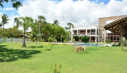 Prajuru - Casa Grande, Gartenanlage