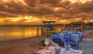 El Gouna, Club Paradisio, Strandrestaurant Sunset