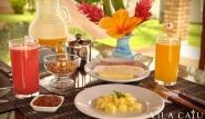 Gostoso - Vila Caju, Frühstück