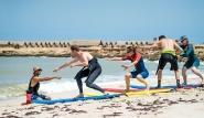 Dakhla - Westpoint Surf School, Wellenreit Schulung Einsteiger