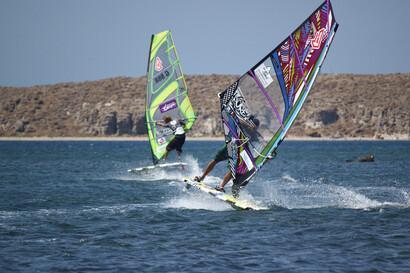 Sigri Lesbos, Surf Action am Sigri Surfcenter