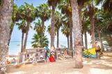 Fuerteventura Sotavento - René Egli Kite Center, Schattenplätze