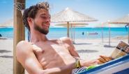 Limnos - Surf Club Keros, chillen in der Hängematte