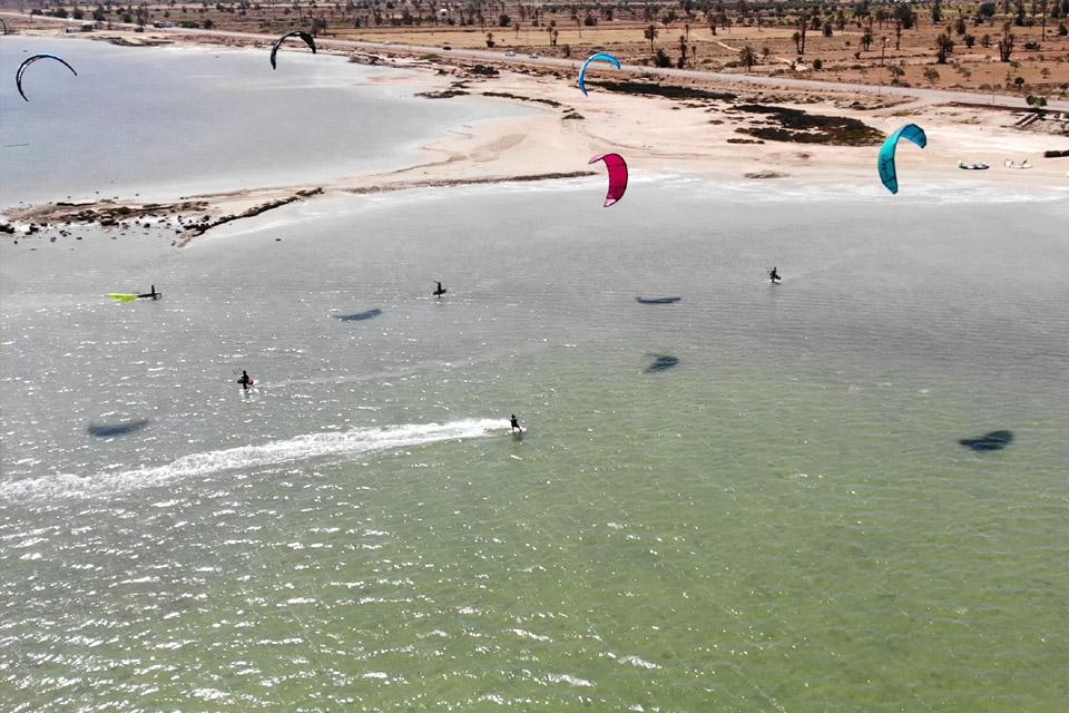 Djerba - Kitespot Einstieg