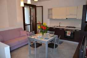 Lo Stagnone - Torre Lupa, Appartement Küche