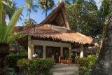 Bali - Alam Anda, Garten Deluxebungalow, Terrasse