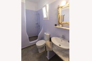Naxos - Olga Apartments, Bad