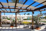 Safaga - Shams Lodge, Blick vom Restaurant