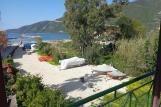 Lefkada - Villa Angela, Apartement 3 Schlafzimmer, Blick vom Balkon