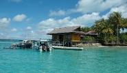 Kalimantan - Nabucco Island Resort, Jetty