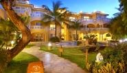 Cabarete, Villa Taina, Pool mit Garten