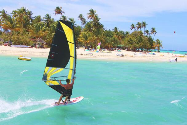 Tobago Radical Sports, Windsurfing Beach