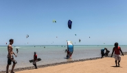 El Gouna, Kite-People, Kite Beach