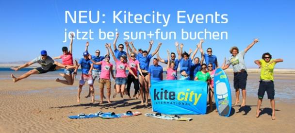 Kitecity Events bei sun+fun