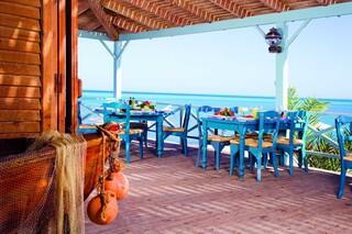 El Gouna, Mövenpick Resort & Spa, Restaurant aussen