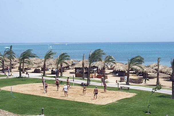 Abus Soma - Caribbean World, Strand mit Beachvolleyball