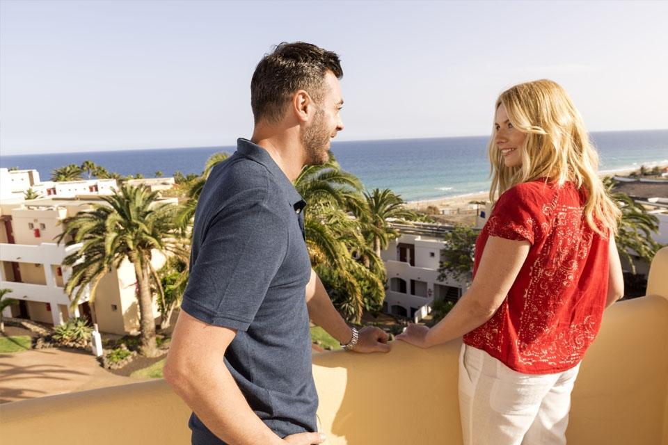 Fuerteventura - ROBINSON Club Esquinzo Playa, Balkon Doppelzimmer Superior Meerblick