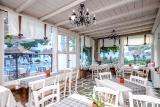 Naxos - Alkyoni Beach Hotel, Frühstücksraum