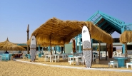 Element Center El Gouna, Ansicht vom Strand